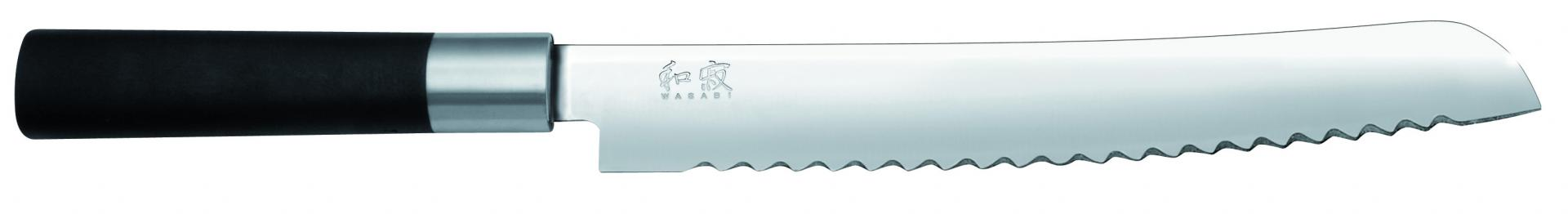 Faca Wasabi black Bread Knife 9´ 23 cm
