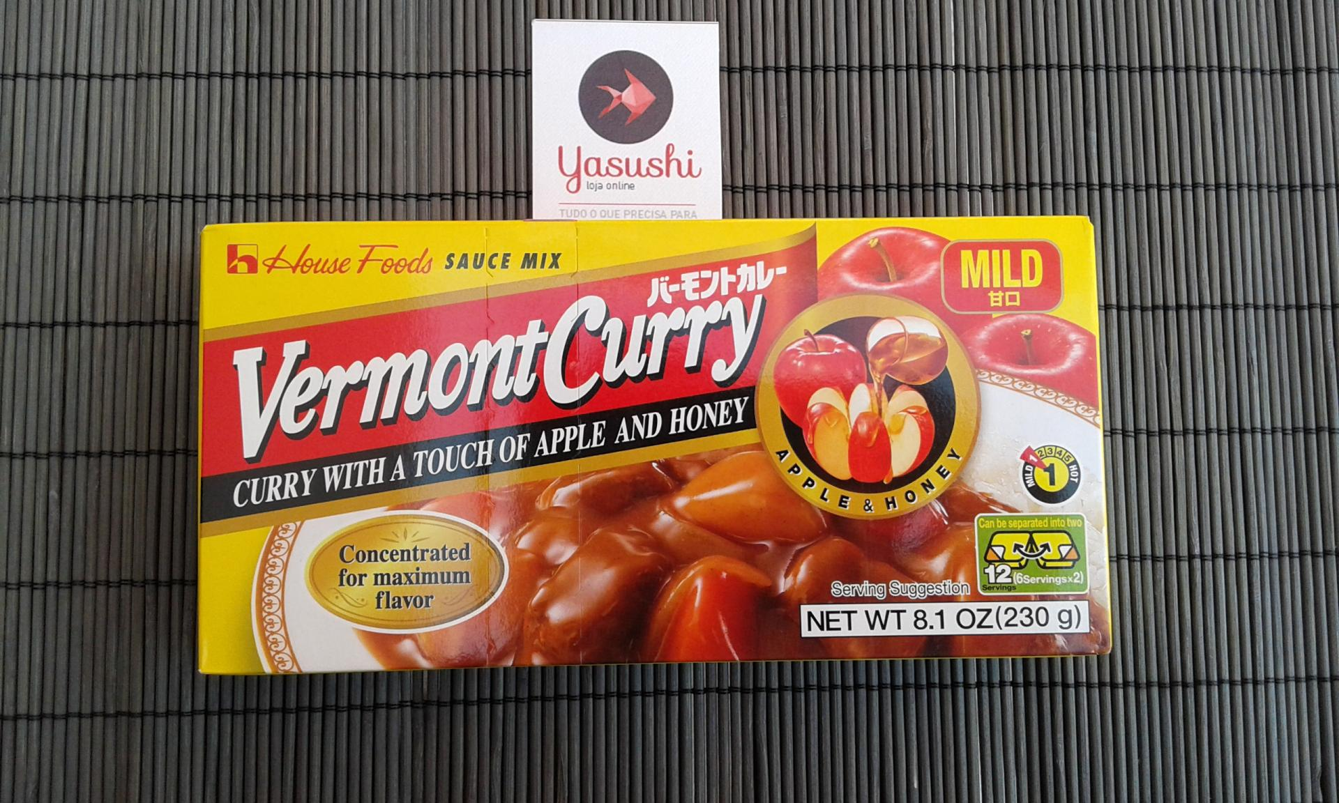 "CURRY Vermont ""Medio"" - Molho de caril......"